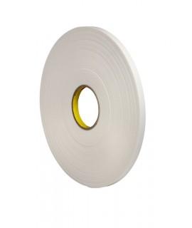 3M™ Urethane Foam Tape 4108 Natural, 1 in x 36 yd 125.0 mil, 9 per case