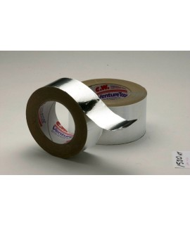 3M™ Venture Tape™ Aluminum Foil Tape 1520CW Natural Aluminum, 1 in x 50 yd 1.8 mil, 48 per case