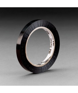 Tartan™ Strapping Tape 860 Black, 12 mm x 55 m, 144 per case Bulk