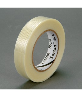 Tartan™ Filament Tape 8934 Clear, 9 mm x 55 m, 96 rolls per case