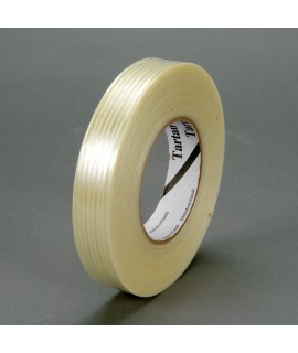 Tartan™ Filament Tape 8932 Clear, 12 mm x 55 m, 72 per case Bulk