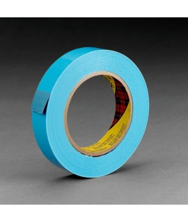 Scotch® Strapping Tape 8898 Blue, 12 mm x 55 m, 72 rolls per case