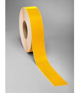 3M™ Diamond Grade™ Flexible Prismatic School Bus Marking Series 973-10NL White, 6 in x 50 yd