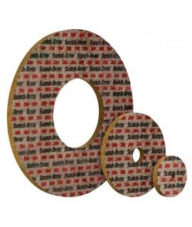 Scotch-Brite™ Diamond Wheel 645DC 6 in x 1/2 in x 1 in, 3 per case