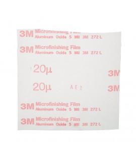 3M™ Microfinishing Film 5MIL Type UK Belt 272L, 19 in x 60 in 20 Micron, 10 per case