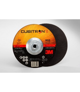 3M™ Cubitron™ II Cut-Off Wheel Quick Change 66540, T27 6 in x .045 in x 5/8-11 in, 25 per  inner, 50 per case