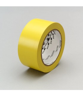 3M™ General Purpose Vinyl Tape 764 Yellow, 1 in x 36 yd 5.0 mil, 36 per case Bulk