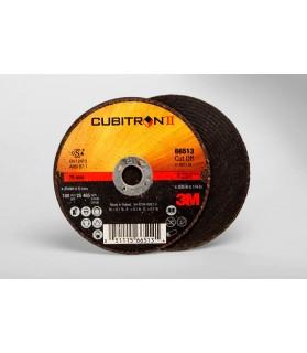 3M™ Cubitron™ II Cut-Off Wheel 66513, T1 3 in x .035 in x 1/4 in, 25 per  inner, 50 per case