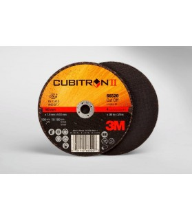 3M™ Cubitron™ II Cut-Off Wheel 66520, T1 4in x .06in x 3/8in, 25 per inner, 50 per case